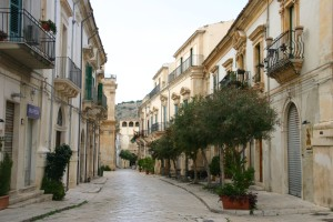 visit the area of Modica or Scicli