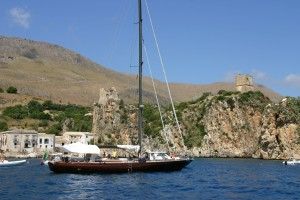 rent boat in sicily should be done from Castellammare del Golfo