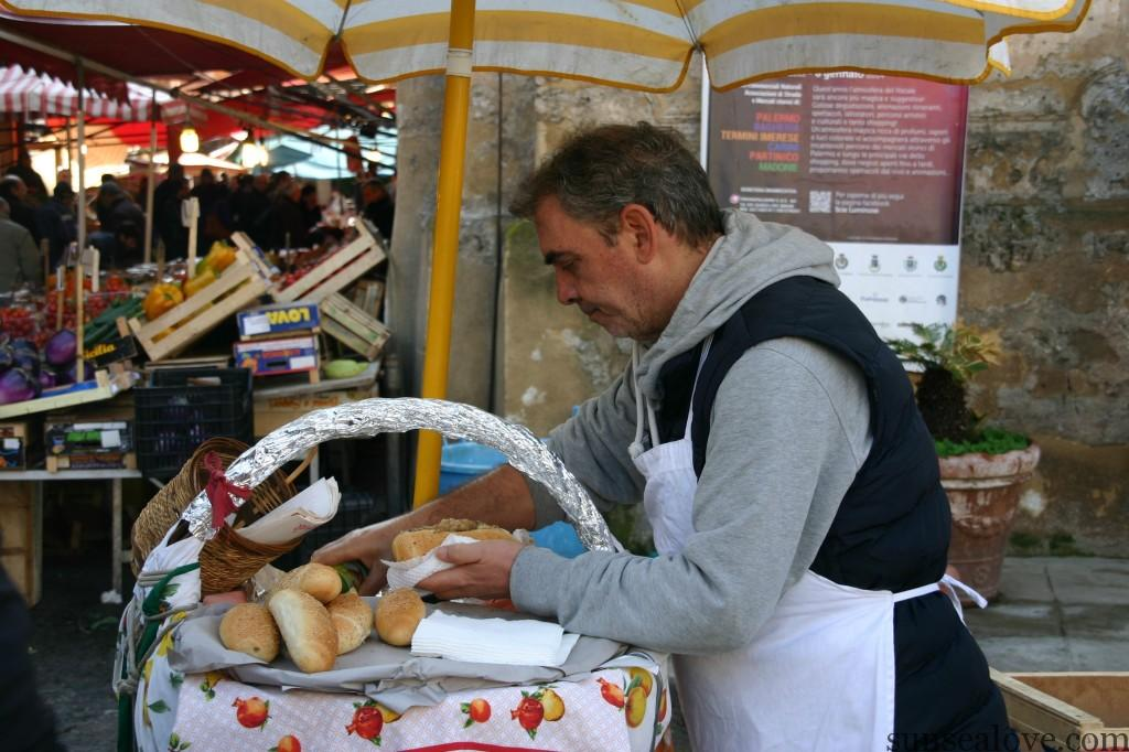Sicilian experience like street food you will never forget.